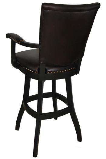 401 Bar Stool S-Base back