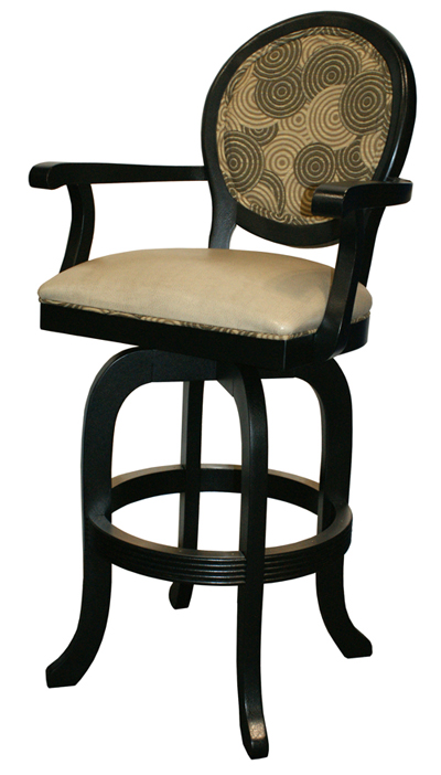 Tobias Designs 500 Two Tone With Arms Melina Barstool