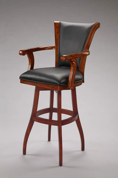 Tobias Designs Caribean With Arms Barstool