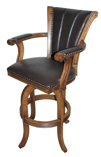 Tobias Designs Montego Melina With Upholstered Arms Barstool