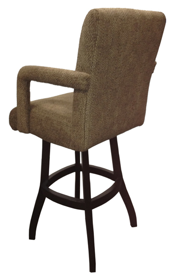 Somerville Bar Stool on S-Base - Back