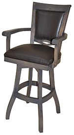 400 with Arms S-Base Bar Stool