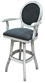 500 with Arms S-Base Bar Stool