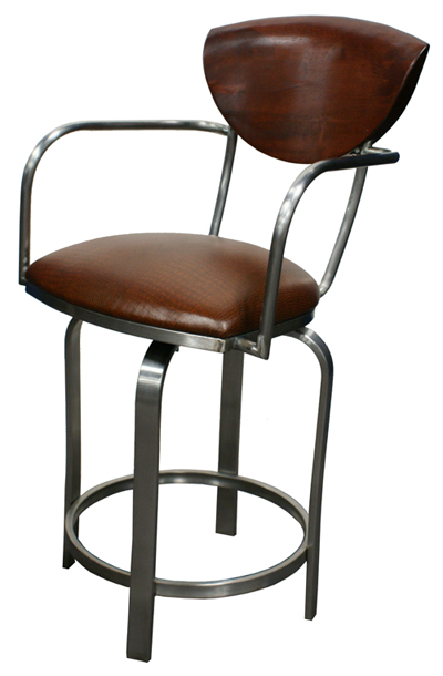 Tobias Designs 511 Swivel Stainless Steel Barstool : 511stainless from tobiasdesigns.com size 400 x 610 jpeg 123kB