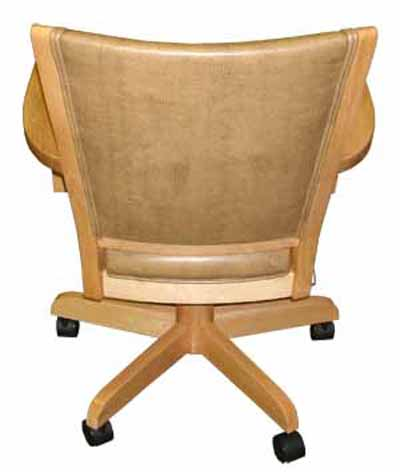 Coco Caster Chair - back