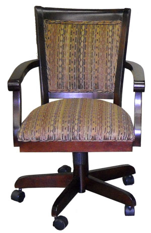 Tobias Designs Mango Caster Chair With Arms