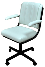 m19 Caster Chair with Arms