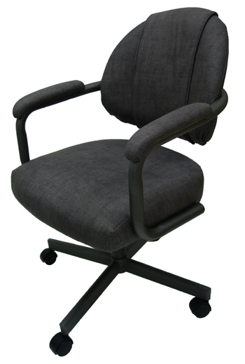 M-70 Caster Chair - Steel Finish