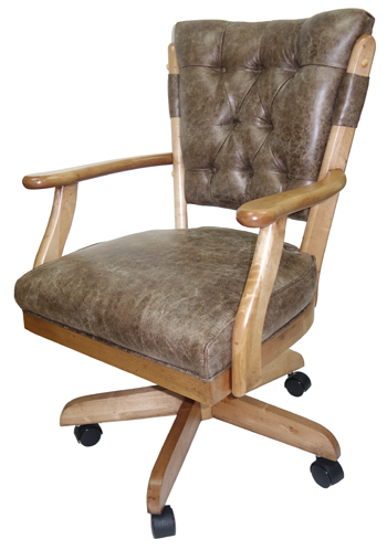 Vintage Caster Chair side