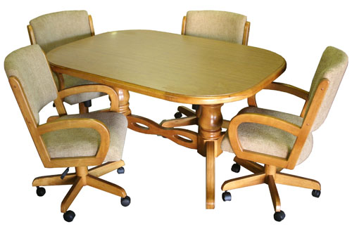 Dinette 260 Chairs with 42 x 60 Table