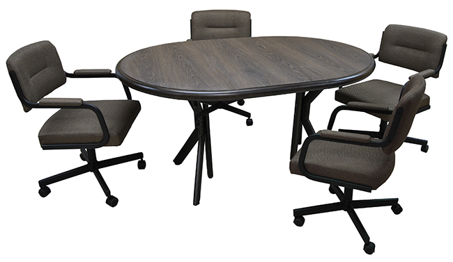 M-110 Caster Chairs 42x42x60 Table