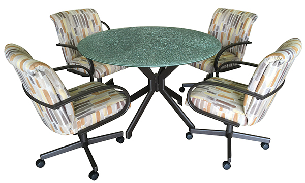 M-60 Caster Chair 48 glass