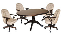 Dinette 42x60 Table 1000 chairs