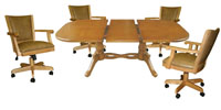 42x60 Table Mango Full Back Chairs