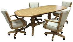 Classis Caster Chairs 42x60x75 Table