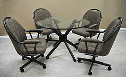M-80 Caster Chairs 42 Table