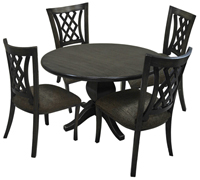Dinette with Round Table Tango Side Chairs