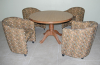 Dinette 3002 Club Chairs