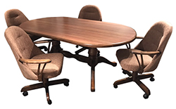 w226 Caster Chairs 42x60x78 Table