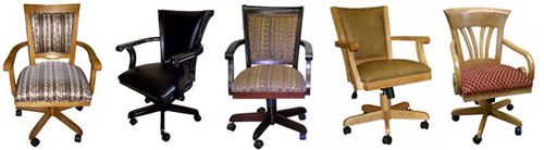 Tobias Caster Chairs