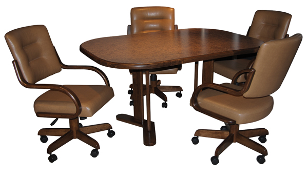 Delightful 280 Caster Chairs With 42 X 60 Table