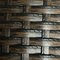 Outdoor PE Wicker - Ebony Brown