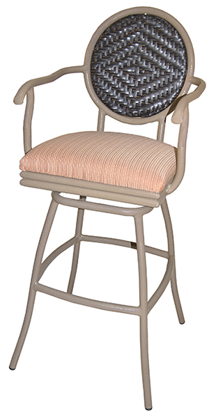 Adelle Stool Desert with Arms