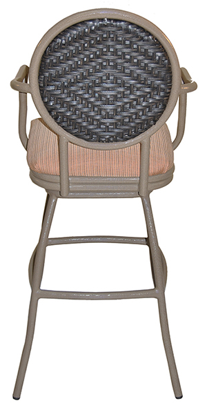 Tobias Designs Outdoor Aluminum Bar Stool Adelle