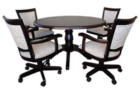 Dinette with 400 Caster Chairs Round Table