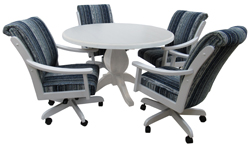 Casa Plus Caster Chairs 42 Table